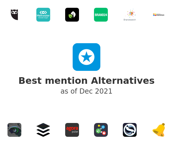 Best mention Alternatives