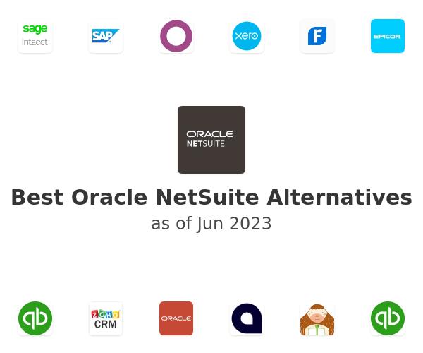 Best NetSuite Alternatives