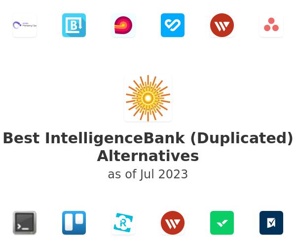 Best IntelligenceBank Alternatives