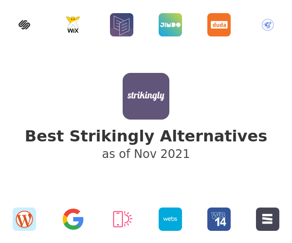 Best Strikingly Alternatives