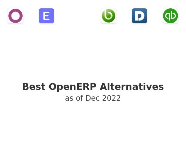 Best OpenERP Alternatives