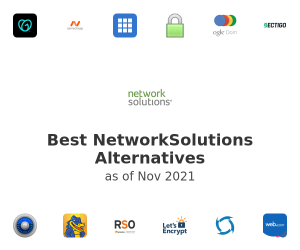 Best NetworkSolutions Alternatives