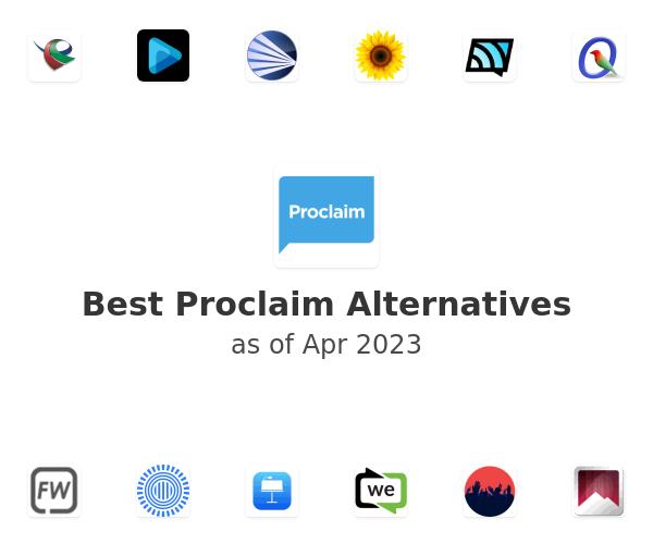 Best Proclaim Alternatives
