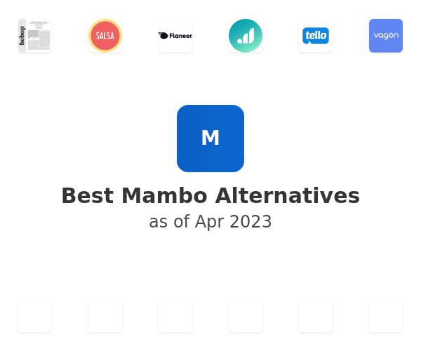Best Mambo Alternatives
