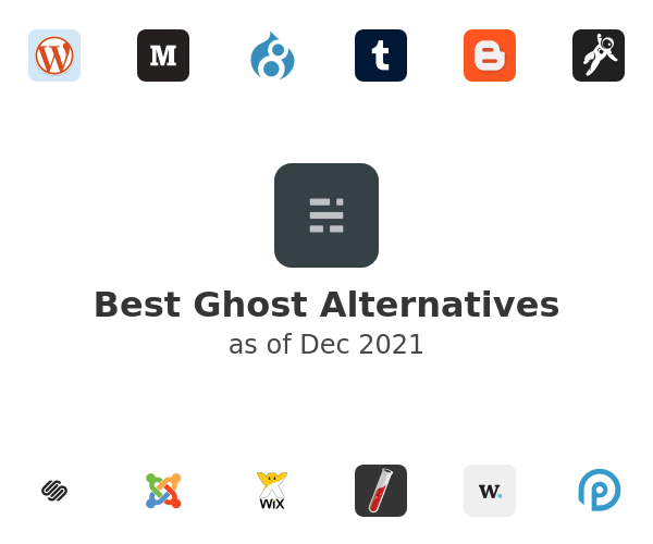 Best Ghost Alternatives