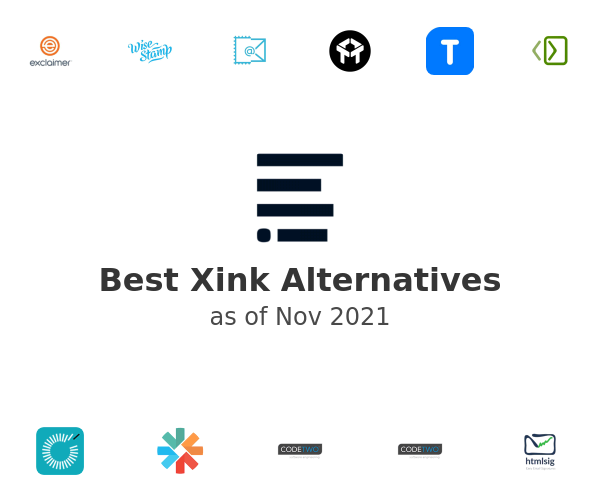 Best Xink Alternatives