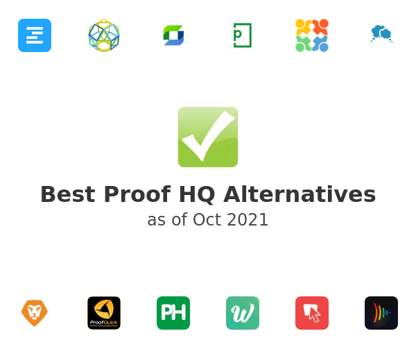 Best Proof HQ Alternatives