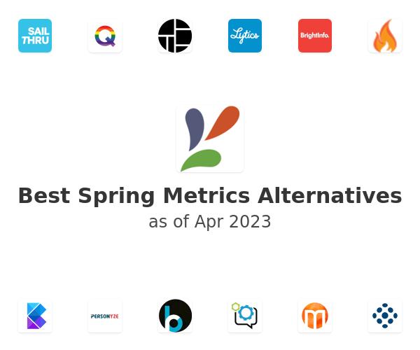 Best Spring Metrics Alternatives