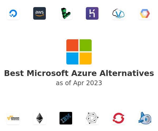 Best Microsoft Azure Alternatives