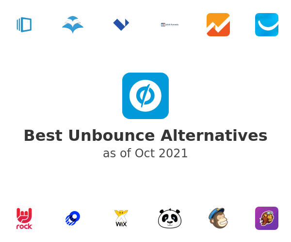 Best Unbounce Alternatives