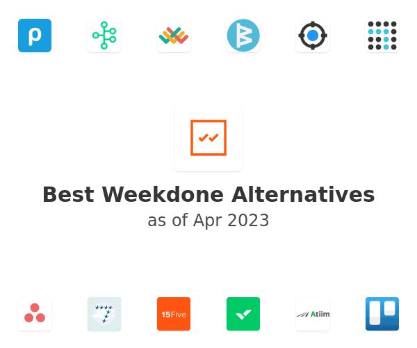 Best Weekdone Alternatives
