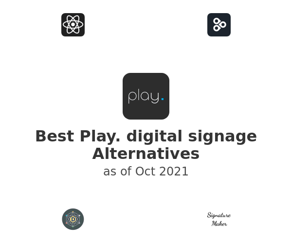 Best Play. digital signage Alternatives