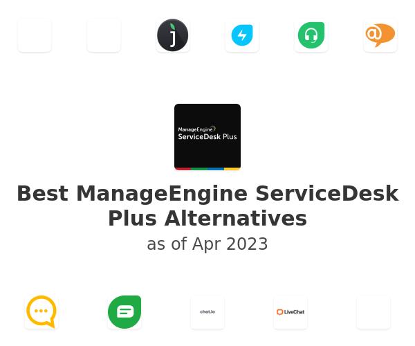 Best ManageEngine ServiceDesk Plus Alternatives