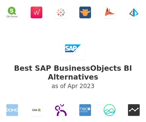 Best SAP BusinessObjects BI Alternatives