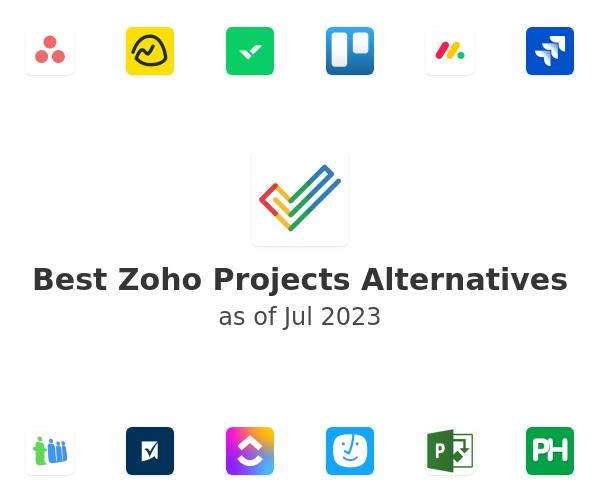 Best Zoho Projects Alternatives