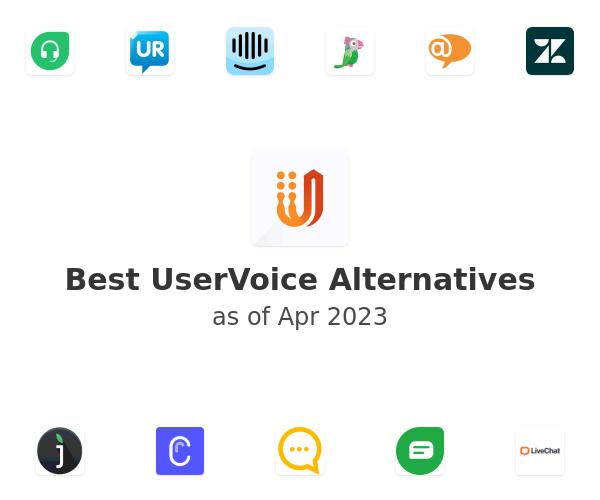 Best UserVoice Alternatives