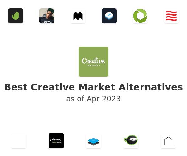 Best Creative Market Alternatives
