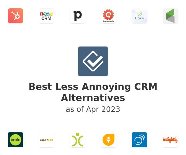 Best Less Annoying CRM Alternatives