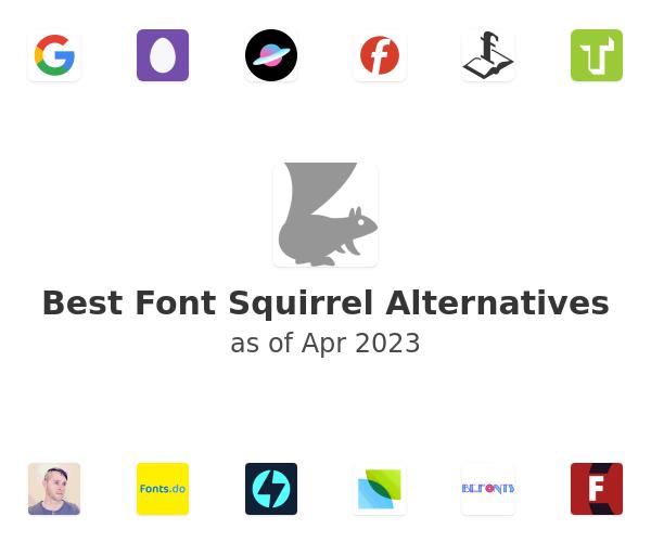 Best Font Squirrel Alternatives