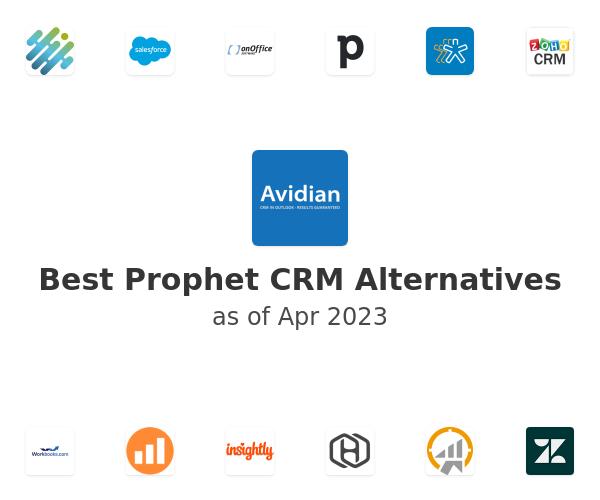 Best Prophet CRM Alternatives