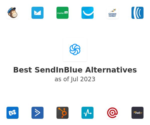 Best SendInBlue Alternatives