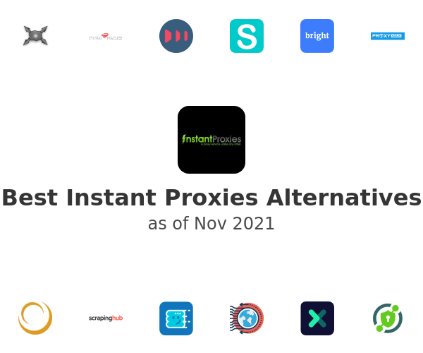 Best Instant Proxies Alternatives