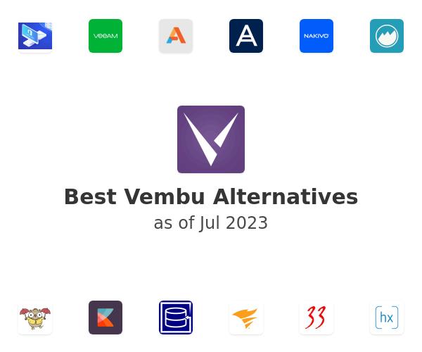 Best Vembu Alternatives