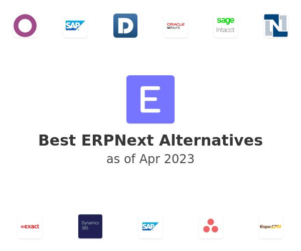 Best ERPNext Alternatives