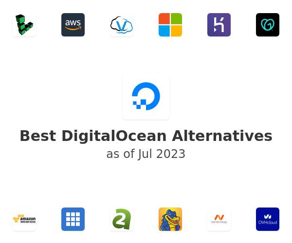 Best DigitalOcean Alternatives
