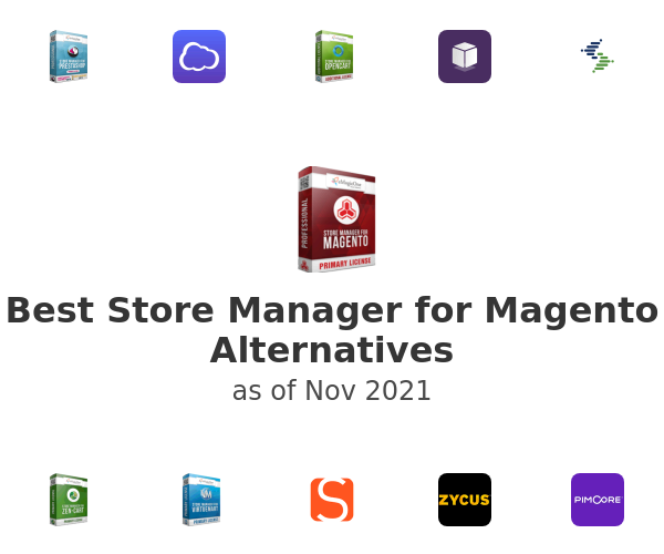 Best Store Manager for Magento Alternatives