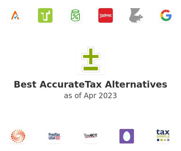 Best AccurateTax Alternatives
