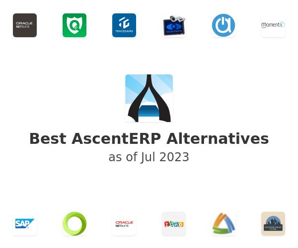 Best AscentERP Alternatives