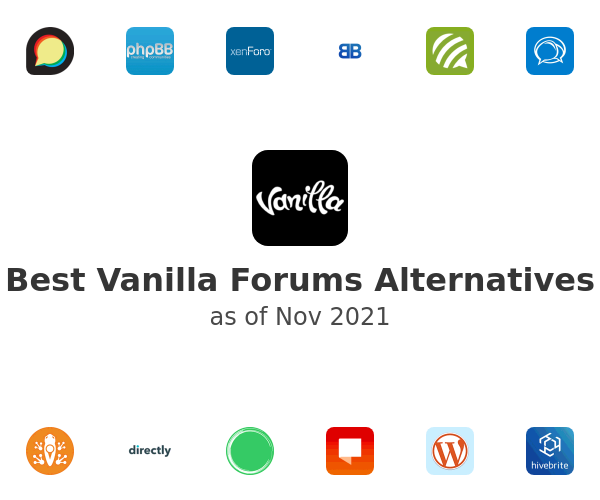 Best Vanilla Forums Alternatives