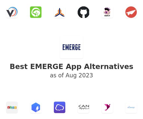 Best EMERGE App Alternatives