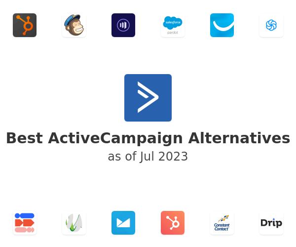 Best ActiveCampaign Alternatives