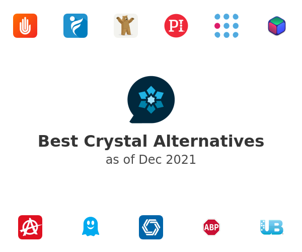 Best Crystal Alternatives
