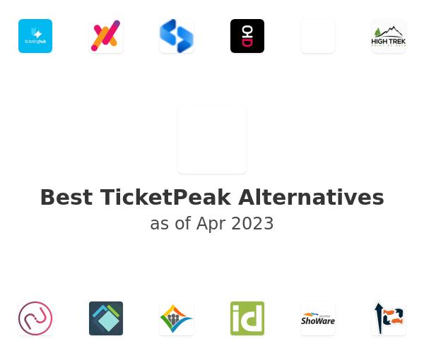 Best TicketPeak Alternatives
