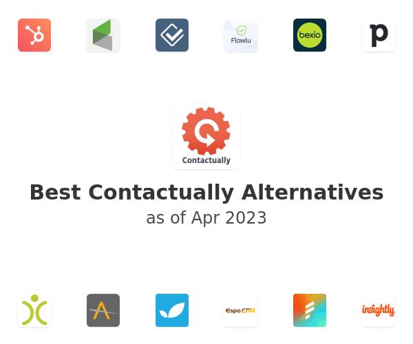 Best Contactually Alternatives