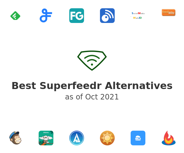 Best Superfeedr Alternatives