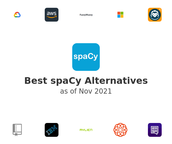 Best spaCy Alternatives