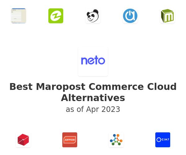 Best Maropost Commerce Cloud Alternatives
