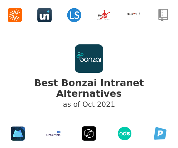 Best Bonzai Intranet Alternatives