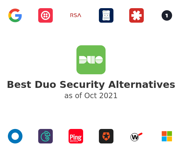 Best Duo Security Alternatives