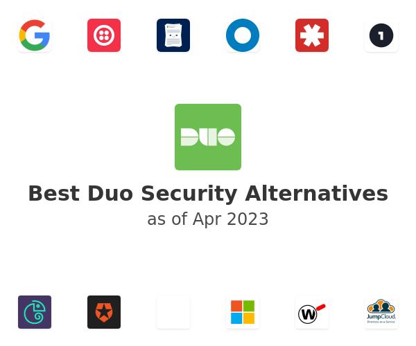 Best Duo Security Alternatives