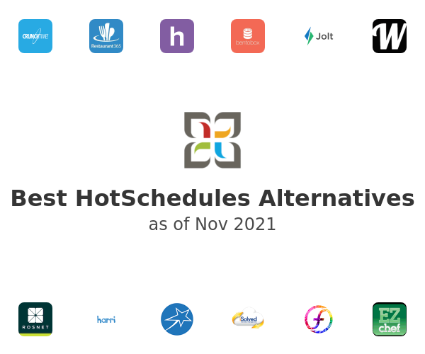 Best HotSchedules Alternatives