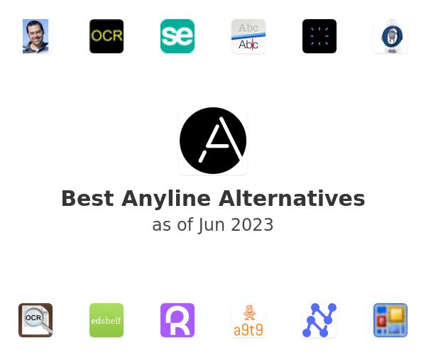 Best Anyline Alternatives