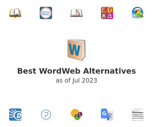 Best WordWeb Alternatives