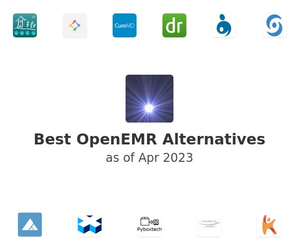 Best OpenEMR Alternatives
