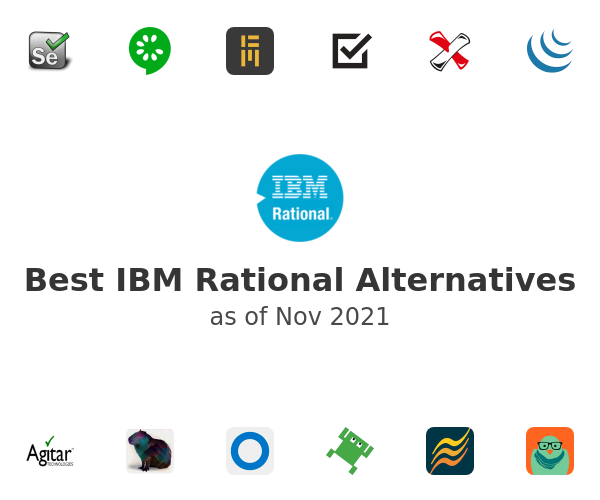 Best IBM Rational Alternatives