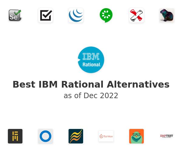 Best IBM Rational Alternatives